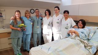 צוות חדר הלידה בכרמל