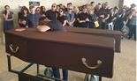 סרגיי צ'בוטרב בלוויה