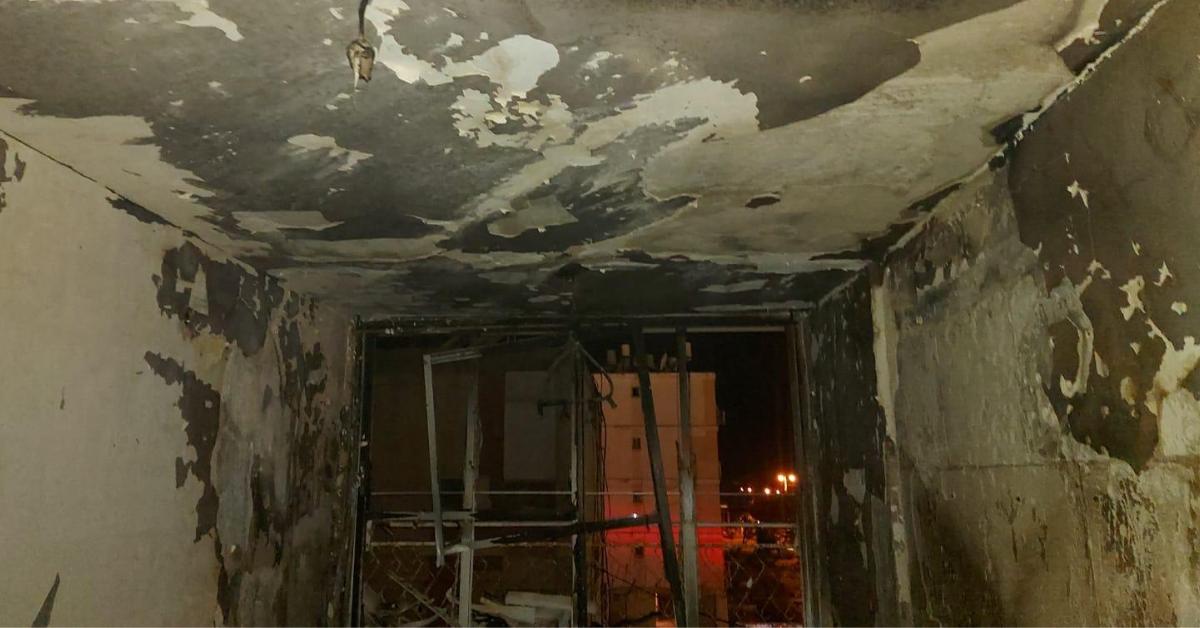 שריפה בדירה בקרית ים
