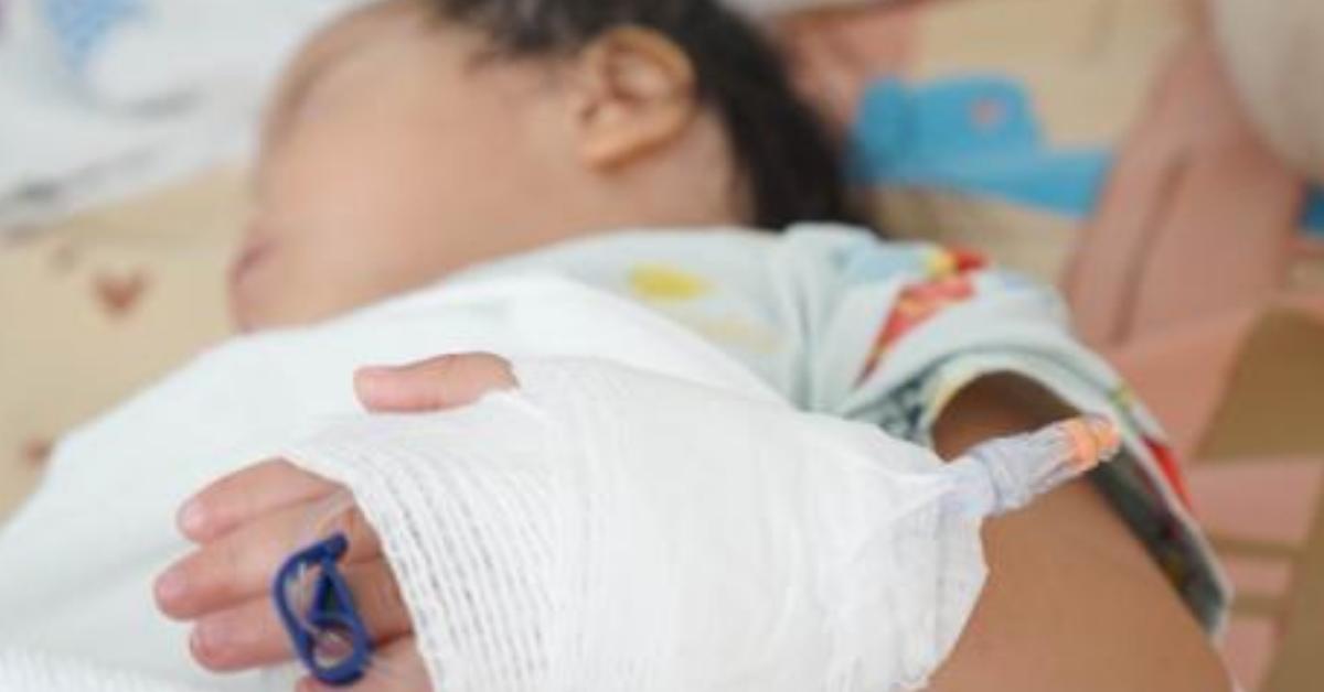 תינוק בבית חולים