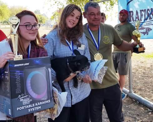 הזוכים בתחרות דייג מקצועית למשפחות