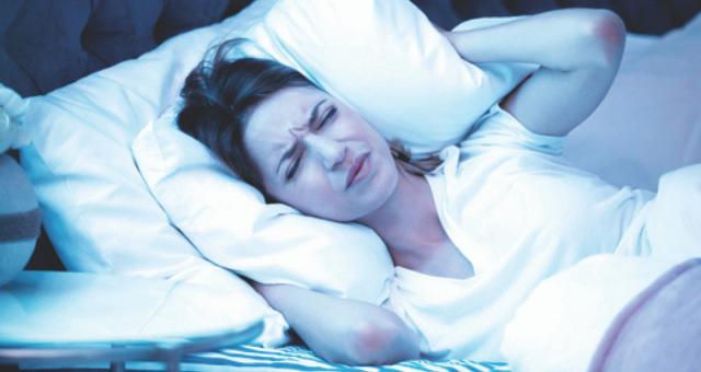 מטרד רעש בשינה