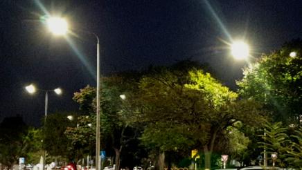 תאורת רחוב, מוצקין