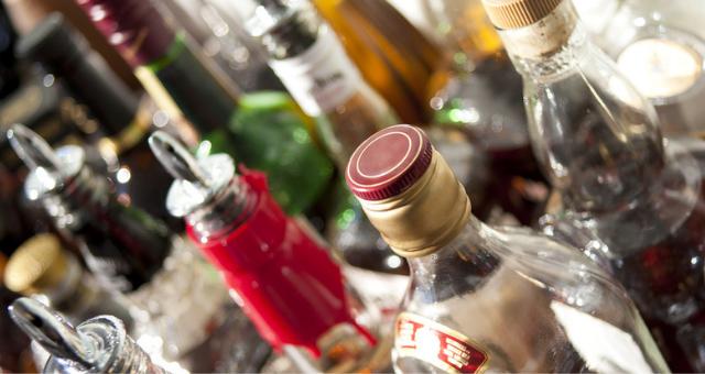 בקבוקי אלכוהול