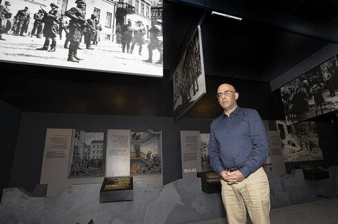 """""""הנגיעה ביהודי תוניס בתקופת השואה היא מבחינתי סגירת מעגל"""".יגאל כהן"""