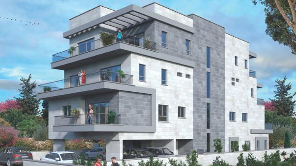 הבניין המתוכנן ברח' חנה סנש