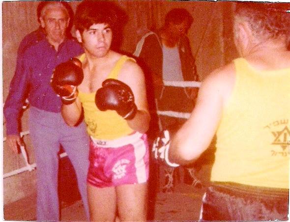 אבא מול בן. הקרב האחרון, 14.4.1979 בקולנוע אורות במוצקין   צילומים באדיבות המשפחה