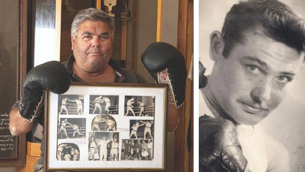 """""""אבא היה גם לוחם אצ""""ל נועז"""". אליקים שפיר עם תמונות מקרבות של אביו"""
