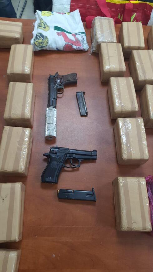 נשק וסמים נתפסו בקרית אתא