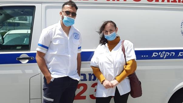 אחות ממוצקין הצילה מטופלת
