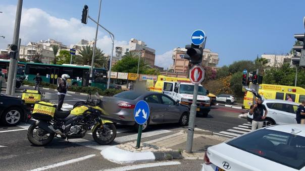 תאונה בדרך עכו