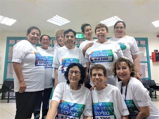 קבוצת הליכה - מרפאת צאלון