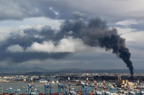 שריפה בבזן דצמבר 2016 אילן מלסטר המשרד להגנת הסביבה