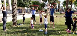 אירוע בריאות בגבעת הרקפות. צילום: דוברות כללית מחוז חיפה - גליל מערבי