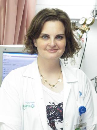 """ד""""ר מיכל שטיינברג. צילום: בית חולים כרמל"""