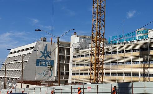 בית החולים בני ציון. צילום: נחום סגל